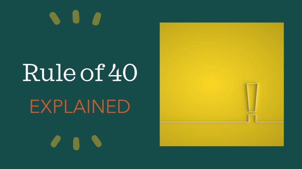 Rule of 40 - SaaS Software - deutsch berechnen